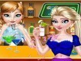 Princesas amigas no barzinho