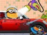 Limpar carro dos Minions