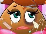Ambulância menina Pou