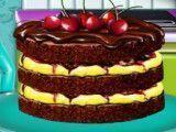 Receita de bolo de chocolate com cereja