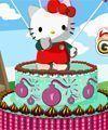 Bolo da Hello kitty decoração
