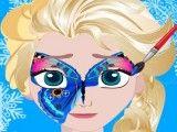 Pintura da máscara da Elsa