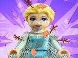 Banho da Elsa e Anna lego