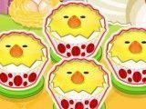 Cupcakes decoração da galinha