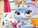 Cuidar do coelho da Branca de Neve