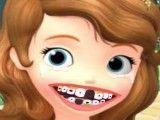 Sofia cuidar dos dentes