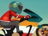 Aventuras de motocross no deserto