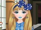 Alice adolescente na escola