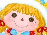 Roupas da boneca da neve