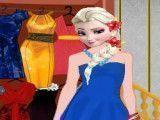 Princesa Elsa vestir