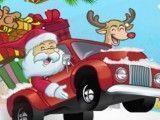 Papai Noel entregar presentinhos