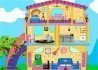 Decoração casa da Dora