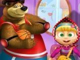 Vestir Masha e Bear