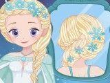 Noiva Elsa penteado
