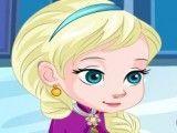 Elsa bebê machucados