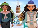 Moana e Elena moda