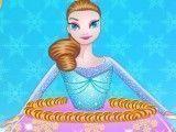 Decorar bolo da princesa Frozen