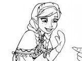Pintar desenho da Frozen