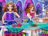 Princesas chá da tarde decorar
