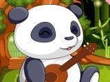 Cuidar do bebê panda