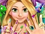 Rapunzel fazer unhas