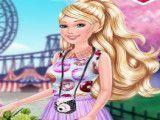 Barbie moda andar de bicicleta