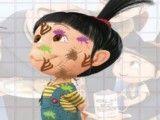 Banho da menina Agnes