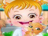 Veterinária bebê Hazel
