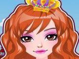 Princesa fazer penteado