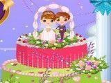 Bolo de casamento fazer decoração