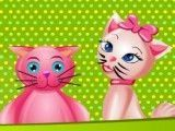 Bolo de gatos fazer decoração