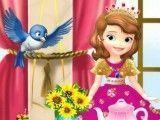 Princesa Sofia decorar mesa de lanches