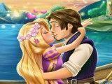 Rapunzel beijar namorado