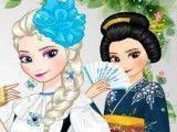Elsa roupas dos países