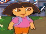 Dora e o robô aventuras