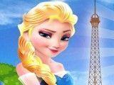 Elsa arrumar mala para Paris