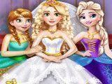 Rapunzel noiva e amigas