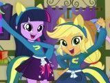 Limpeza da escola My Little Pony