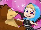 Masha e o urso halloween