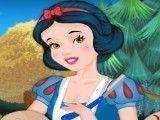 Branca de Neve cabeleireira dos anões