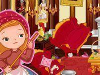 Limpar casa com Cinderela
