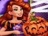 Abóbora decoração do Halloween