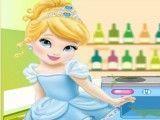 Limpar cozinha da Cinderela bebê