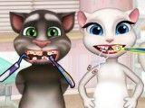 Tom e Angela dentista