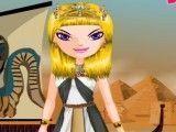 Roupas da princesa do Egito