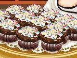 Preparar cupcakes de chocolate e baunilha
