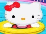 Decore a piscina da Hello Kitty