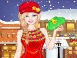 Barbie roupas na neve