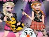 Elsa e Anna banda de rock