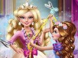 Barbie costurar vestido